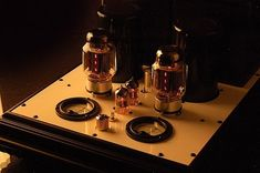 The Decware Audiophile Tube Amplifier / Model ZEN TORII MONO'S