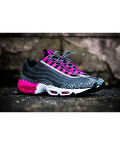 promo code 995ae b4293 Nike Air Max 95 Premium Tape Midnight Pink Black Trainer Air Max 95 Pink,  Cheap
