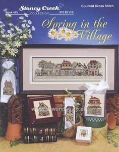 Spring in the Village Chart Booklet by Stoney Creek