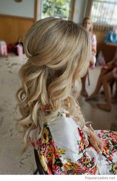 Amazing wedding day hair