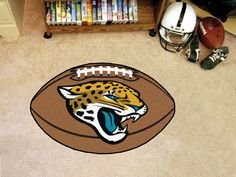 NFL Jacksonville Jaguars Football Doormat