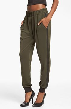 Wayf Crepe Track Pants available at #Nordstrom