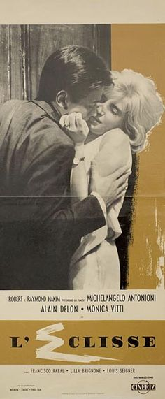 Posteritati: ECLISSE, L' (Eclipse, The) 1962 Italian 13x28