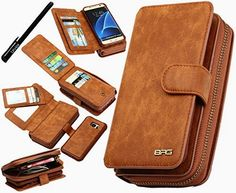 Urvoix Galaxy S7 Edge Case, Premium Leather Zipper Wallet Multi-functional Handbag Detachable Removable Magnetic Case with Flip Card Holder Cover for Samsung Galaxy S7edge G935  BUY NOW     $24.99     For Samsung Galaxy S7 Edge Case(G935, NOT S7!)    Package includes: 1 x phone case 1 x stylus Accessories ONLY, device NOT i ..  http://www.welovefashion.top/2017/03/10/urvoix-galaxy-s7-edge-case-premium-leather-zipper-wallet-multi-functional-handbag-detachable-removable-magnetic-..