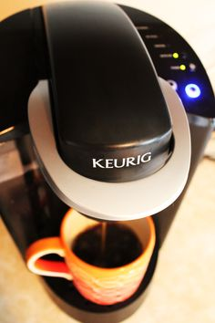 What a great shot @bbdeee (Dawn Torres) took of her Keurig brewer!