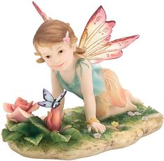 Calliblossom  Baby Fairy Figurine from the Faerie Glen Faebies Series