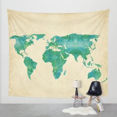 The world map wall tapestry to re do my livingroom pinterest our wall tapestries are made of 100 lightweight polyester with tapestry mapworld gumiabroncs Images