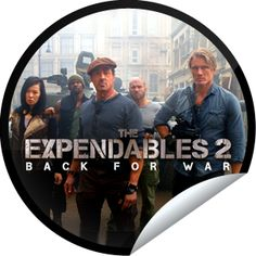 Steffie Doll's The Expendables 2 Opening Weekend Sticker | GetGlue