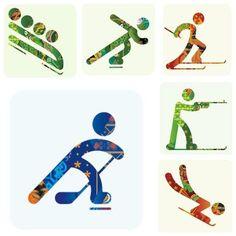 Sochi 2014 Pictograms