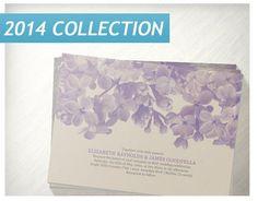 Lavender Floral Wedding Invitations