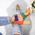 SHOES – Page 3 – shopingnova Chunky High Heels, Thick Heels, Black High Heels, Chunky Sandals, Strappy Sandals Heels, Lace Up Sandals, Lace Up Heels, High Heels Outfit, Colorful Heels