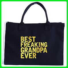 Best Freaking Grandpa Ever An Awesome Father's Day Gift - Tote Bag - Top handle bags (*Amazon Partner-Link)