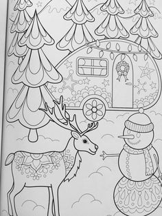 Christmas Coloring Book (Coloring is Fun) (Design Originals) 32 Fun & Playful Holiday Art Activities from Thaneeya McArdle on High-Quality, Extra-Thick Perforated Pages that Resist Bleed-Through Adult Coloring Book Pages, Cool Coloring Pages, Colouring Pics, Doodle Coloring, Coloring Pages For Kids, Coloring Books, Christmas Colors, Christmas Art, Christmas Coloring Sheets