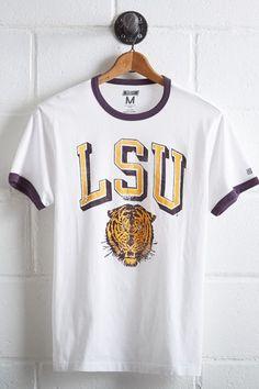 Tailgate LSU Tigers Ringer T-Shirt