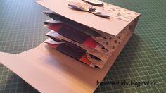 Teebeutelbüchlein mithilfe des Envelope Punch Boards | als Dankeschön oder kleine Aufmerksamkeit ~ Kreiere mit Liebe - Stempeln, Stanzen, Prägen und Co.