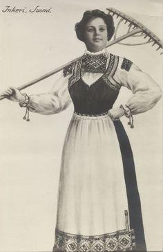 Traditional Suomi (finnish) dress     http://24.media.tumblr.com/tumblr_mb2tctztm81r0i8wko1_500.jpg