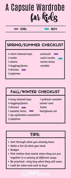 For over a year, I have created seasonal capsule wardrobes for my children. Getting ready in the morning is now easier than ever and they get a say in what they want to wear without me worrying about a mismatched outfit. #capsulewardobe #capsule
