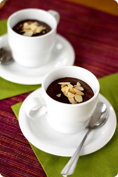 Silken Tofu and Chocolate Mousse by Bougi, via Flickr