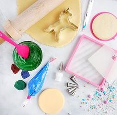 Supplies - Royal Icing Recipe — The Cookie Countess - Cookie Decorating Supplies, Baking Supplies, Decorating Tools, Cake Decorating, Royal Icing Recipe With Egg Whites, Royal Icing Cookies Recipe, Fun Cookies, Cake Cookies, Favorite Sugar Cookie Recipe