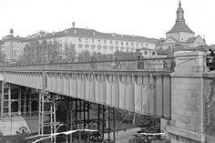 El Madrid que no fue: Los viaductos que no fueron....Primer viaducto de Segovia, inaugurado en 1874