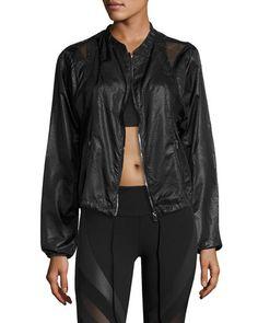 Sunset Nylon Jacket W/Mesh Inset