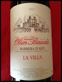 El Alma del Vino.: Tenuta Olim Bauda La Villa 2012.