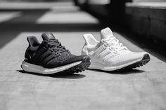 adidas Ultra Boost Black / White Pack