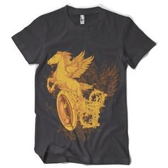"""T-Shirt men """"Chariot"""" FARBAUSWAHL! von MAD IN BERLIN auf DaWanda.com"""