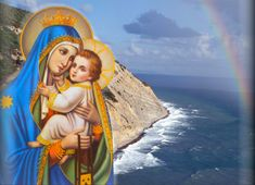Hail, thou Star of ocean, Portal of the sky ! Ever Virgin Mother Of the Lord most high ! by Gabriel's Ave, Uttered long ago,. Background Screensavers, Images Of Mary, Mama Mary, Queen Of Heaven, Still Picture, St Therese, Blessed Mother, Sacred Art, Mother Mary