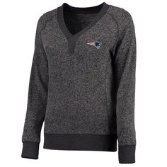 New England Patriots Pro Line Women's Forest Sweater - Charcoal - $64.99