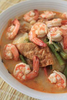 Indonesian Lodeh Siam with Prawns RECIPE #Indonesian recipes #Indonesian cuisine #Asian recipes http://indostyles.com