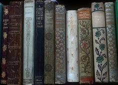 Book shelf containing vintage/antique books Old Books, Antique Books, Vintage Books, Vintage Library, Ravenclaw, Francisco Javier Rodriguez, Yennefer Of Vengerberg, Fraggle Rock, Buch Design