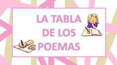 El tablero de los poemas trabajamos la poesía en primaria