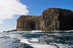 World's most awe-inspiring caves - Fingal's Cave, Staffa Scotland