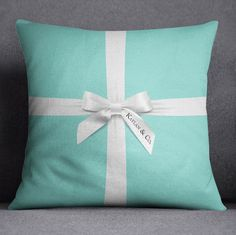 Designer Inspired Tiffany & Co Style Pillow