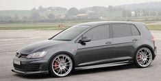Made-in-Germany Bodykit Styling and Modifications for North American VW Golf 7 GTI tuners. Golf R Mk7, Vw Golf R, Volkswagen Golf R, Convertible, Gti Mk7, Jetta Mk5, Japanese Sports Cars, Vw Scirocco, Tuner Cars