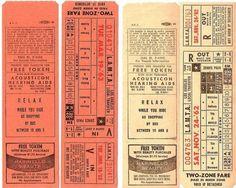 Vintage / Tickets.
