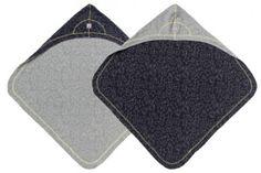 Dwustronny ręcznik Bubbler Lodger - Coal