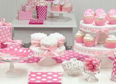 Pembe – Beyaz Temalı Doğum Günü Partisi