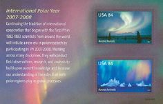 International Polar Year Souvenir Sheet Includes 2 84 Cent MNH Stamps Scott 4123 in Stamps, United States, Unused Buy Stamps, Space Program, Vintage Stamps, Stamp Collecting, Aurora Borealis, Growing Up, Around The Worlds, United States, Fun
