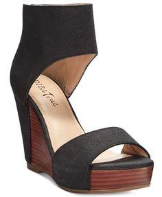 16f89dc10 Diba True Shimmy Down Platform Wedges - Sandals - Shoes - Macy s