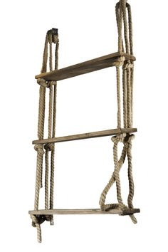 The Rope Shelves from LH Imports is a unique home decor item. LH Imports Site carries a variety of Kenya items.