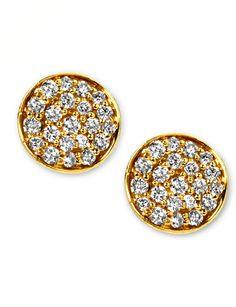 Ippolita Stardust Mini Diamond Stud Earrings - $1,395.00