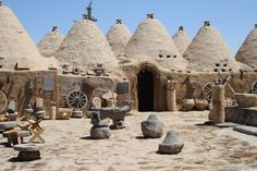 Harran - A few kilometers from the village of Altınbaşak are the archaeological remains of ancient Harran, a major commercial, cultural, and religious center first inhabited in the Early Bronze Age III (3rd millennium BCE) period.