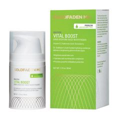 """The reviews are in!   Goldfaden MD Vital Boost """"Even Skintone Daily Moisturizer"""": """"I love the texture of this lightweight moisturizer! It leaves my skin so smooth and soft and I have noticed a significant increase in radiance since I've started using this product. My discoloration also seems to have faded a bit. I highly recommend this product to anyone who has oily/combination skin with an uneven tone."""" #moisturizer #skincare #discoloration #treatment #beauty #GoldfadenMD"""