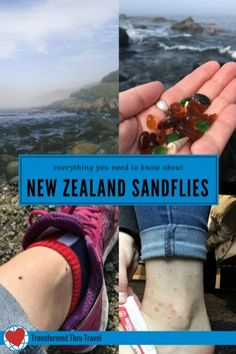 You are bound to run into sandflies at least once while you're in New Zealand. Better to know how to find relief from their bite than how to avoid them. Here, I pass on the secret weapon shared with me. #newzealand #traveltips #travelblog #travelblogger
