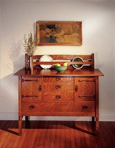 Stickley-Style Sideboard - Popular Woodworking Magazine                                                                                                                                                                                 More