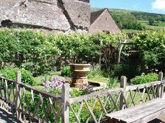 tretower court medieval garden - Google Search
