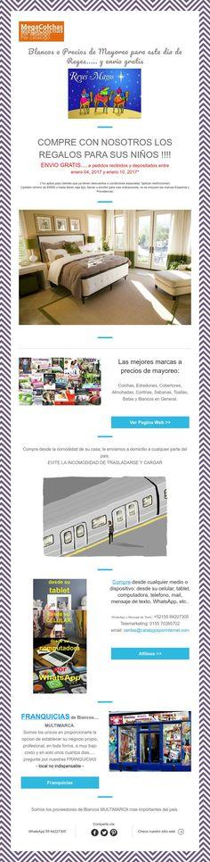 Dia de Reyes - Blancos a Mayoreoy envio gratis