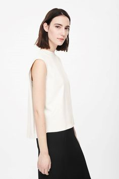 COS | Top with folded sides